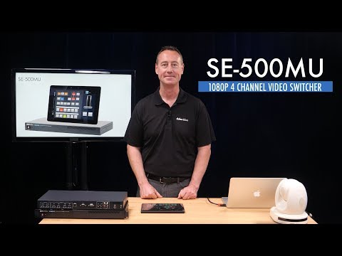 New in 2018: Datavideo SE-500MU 10-bit 1080p Video Switcher | Mixer