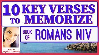 Bible Memory Verses - Bible Verses To Memorize - Book Of Romans NIV - Bible Memorization NIV -