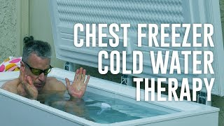 Chest Freezer Cold Water Therapy - Brad Kearns