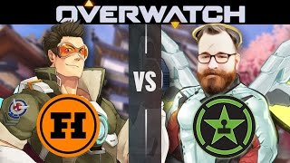 OVERWATCH VS ACHIEVEMENT HUNTER - Overwatch Gameplay