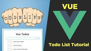 Part 2 - Vue.js Tutorial - Build a Todo App with Vue.js
