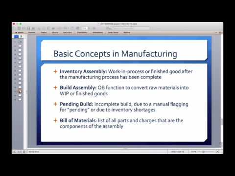 mp4 Manufacturing With Quickbooks, download Manufacturing With Quickbooks video klip Manufacturing With Quickbooks