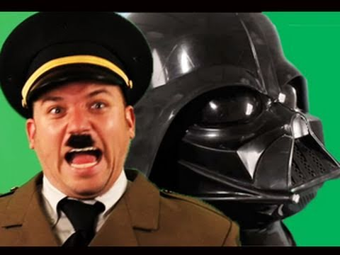 Darth Vader vs Hitler. Epic Rap Battles