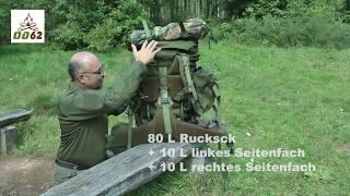 Teesar 100 Rucksack, Outdoor, Survival, Trekking, Wandern, Mil-Tec, Trekkingrucksack