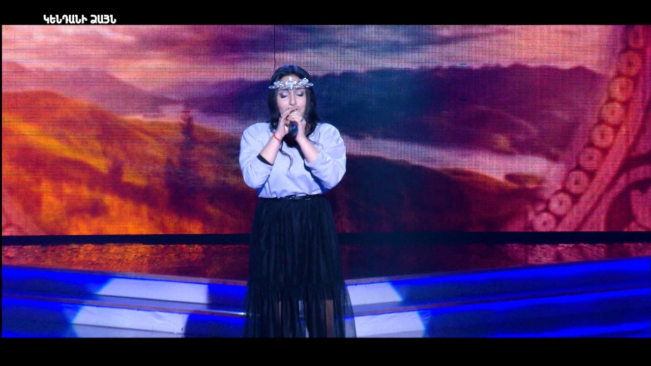 X-Factor4 Armenia-Gala Show 5-Inna Sayadyan-Hayastan ashkharh-Varduhi Vardanyan 19.03.2017
