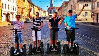 preview picture of video 'Segway Tour Augsburg - Juli 2013 GoPro Hero 3'