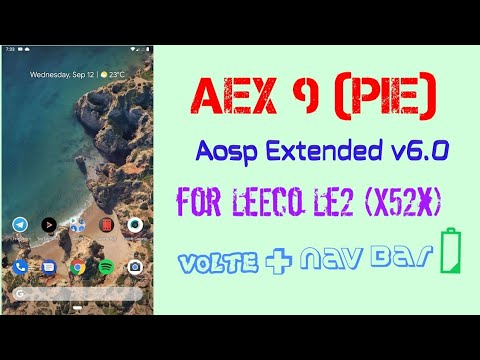 Aosp Extended Pie Review