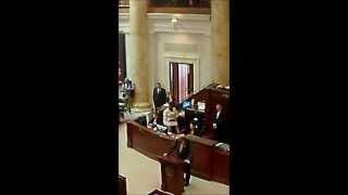 Representative Payton speaks against Arkansas Private Option