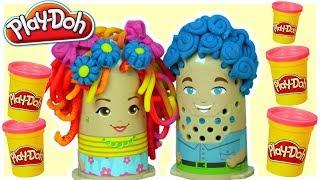 Play Doh • Afera u fryzjera • bajki dla dzieci