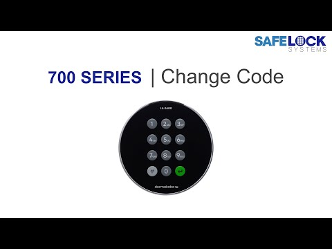 Changing the code on a Lagard 700