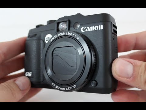 Canon PowerShot G16 Point-and-Shoot Camera Tour