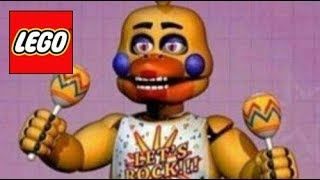 How To Build: LEGO Rockstar Chica - Five Nights at Freddy's 6 (Stop Motion)