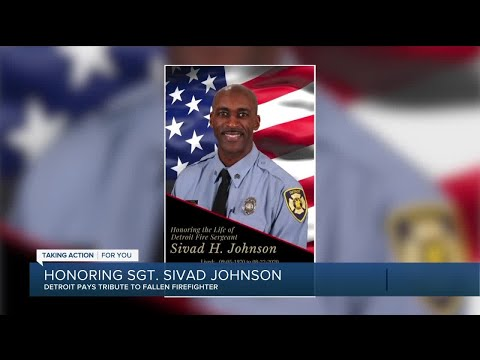 Detroit pays tribute to fallen firefighter who drowned while saving lives