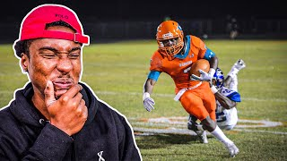 REACTING TO #1 RECEIVER IN THE COUNTRY'S HIGHLIGHTS (CALLED HIM OUT TO 1ON1'S)