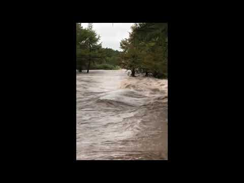 Rescue crews in boats and helicopters are searching for at least four people missing since heavy rain washed away a recreational vehicle park in a small West Texas city. (Oct. 8)