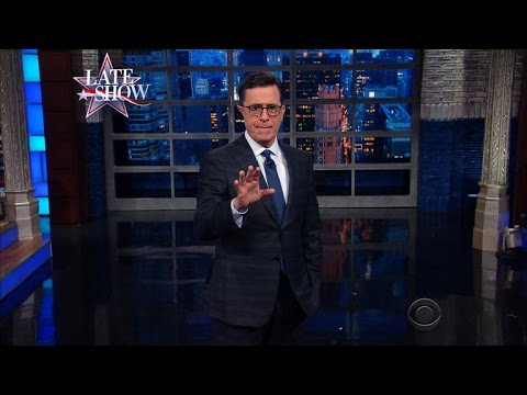 The Late Show's Post-Election Thanksgiving Survival Tips
