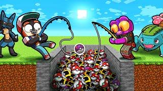 1 vs 3 Pixelmon CRANE Game Challenge! (Minecraft Pokemon)