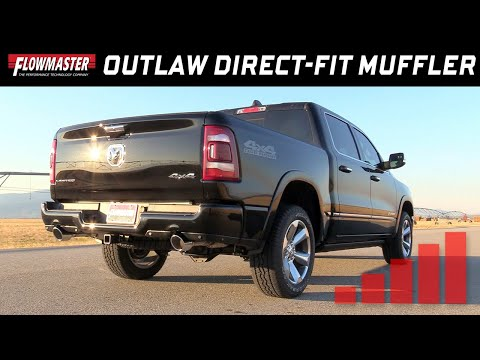 2019 RAM 1500  5.7L Hemi - Flowmaster Outlaw Direct-Fit Muffler 817846