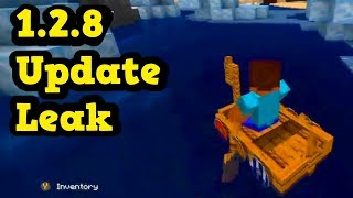 Minecraft PE / Xbox 1.2.8 Update Features & Release Date