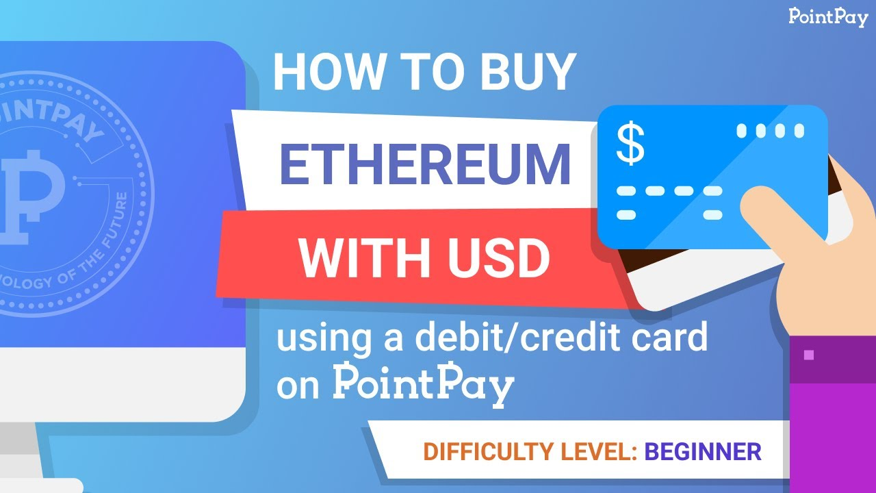 How to buy Ethereum with USD using your debit/credit card?