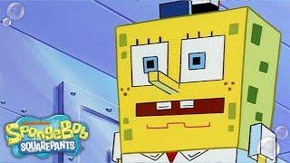 2,000 Years Later: Mashup Of The Future! | #TBT | SpongeBob