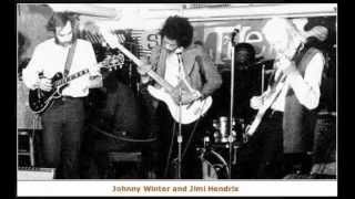 Jimi Hendrix, Johnny Winter, Buddy Miles, STEVE BURGH - Ships Passing in the Night