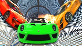 EXTREME FULL SPEED TAKEDOWN! (GTA 5 Funny Moments)