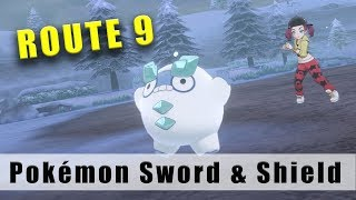 Drednaw  - (Pokémon) - Pokémon Sword and Shield Route 9 Walkthrough Part 21