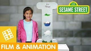 Sesame Street: What Begins with Letter I?