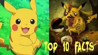 Top 10 Pokemon interesting and creepy Facts and theories