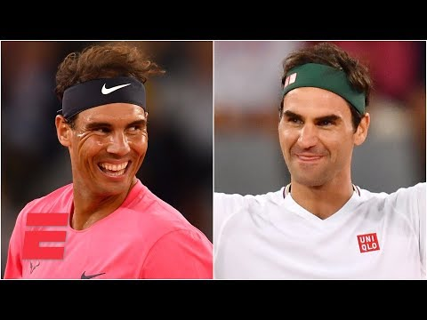 Roger Federer defeats Rafael Nadal in South Africa exhibition | 2020 Tennis Highlights