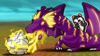 New SPECIES of Dragons = LIGHTNING! (Minecraft)