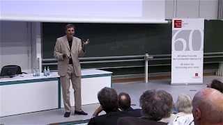 """Stiftungsprofessur 2014: Christoph Wetterich - """"Ursprung Von Raum Und Zeit"""" (08.07.2014)"""