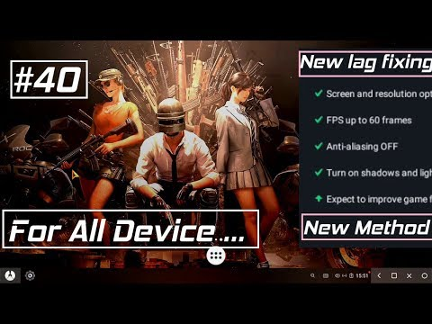 Phoenix OS New Method For Fixing Lag In PUBG Mobile And Play Very