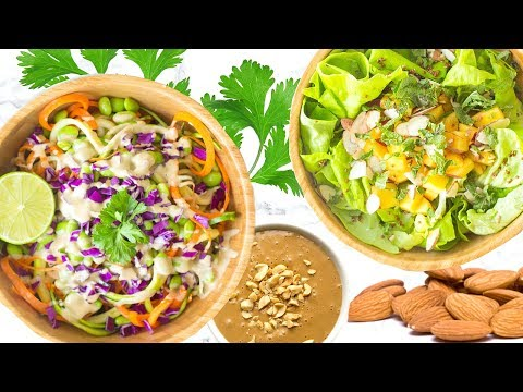 Video HEALTHY SALAD RECIPES! SUMMER RECIPES THAT ARE HEALTHY!