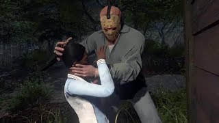 Friday The 13th: The Game - CAMPING WITH A KILLER!