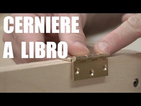 SPORTELLI CON CERNIERE A LIBRO O PIANE - Come si montano - Falegnameria -  Progetto Fai Da Te