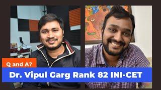 How I made it to AIIMS NEW DELHI ( Ortho ) | Dr. Vipul Garg |