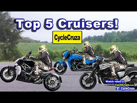 Top 5 Cruiser Motorcycles (Fastest Cruisers) | MotoVlog