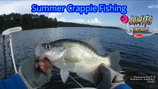 Deep Summer Crappie Fishing - Tips For Summer Crappie Fishing