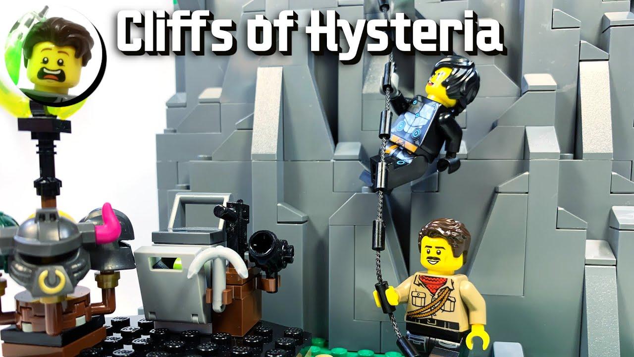 LEGO Cliffs of Hysteria from Ninjago Prime Empire