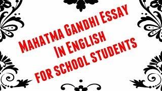 High School Vs College Essay Mahatma Gandhi Essay In Englishenglish Gandhi Jayanti Essayfreedom  Fighter Essay Personal Essay Examples For High School also Essay On Healthy Living Mahatma Gandhi Essay    Viveosnet Science Essays