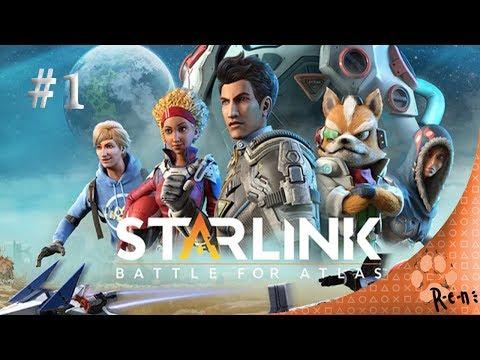 Starlink: Battle for Atlas (PS4) CZ záznam streamu #1  R-e-n 