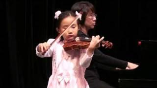 Mercedes Cheung, 6 Years Old: Zigeunerweisen ( Sarasate )