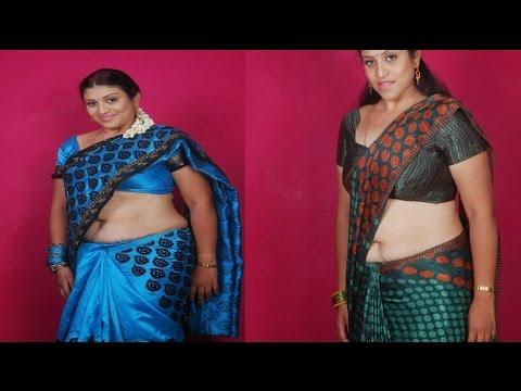 Telugu Serial Actress uma aunty navel Show Video | Tamil