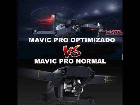 mavic-pro-optimizado-vs-mavic-pro-normal-en-español