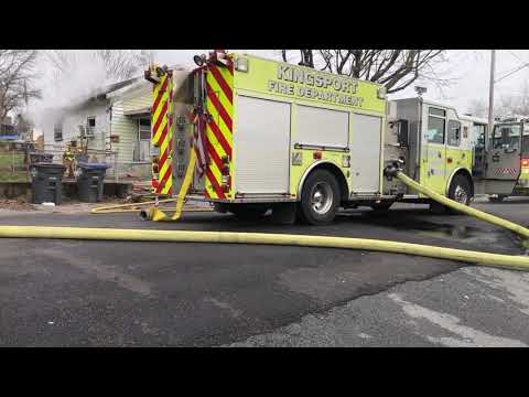 Video: House fire on Charles Street in Kingsport