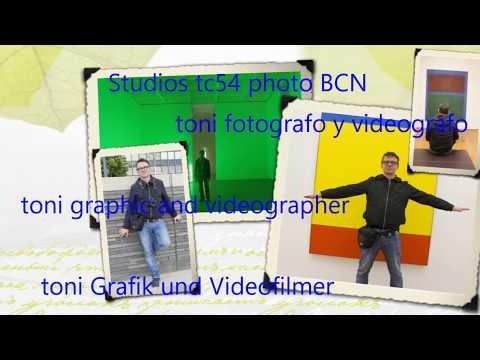 Toni Grafik und Videofilmer Studios tc54photo BCN