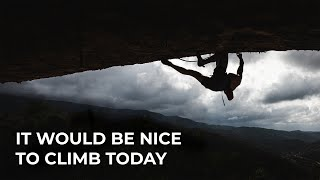 It would be nice to climb today / Perfecto Mundo by Adam Ondra
