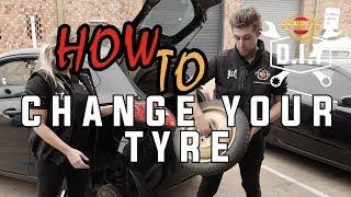 Penrite DIY How to Change Your Tyre